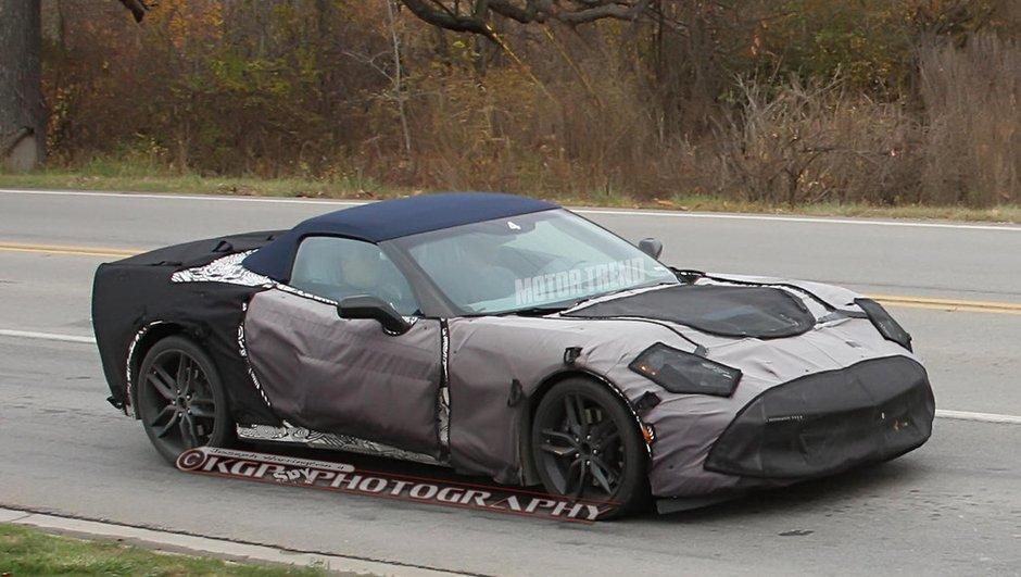 Scoop : la future Chevrolet Corvette C7 Cabriolet surprise