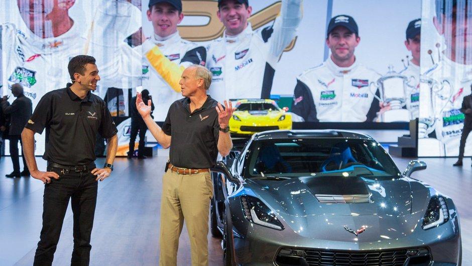 Salon de Genève 2016 : Chevrolet Corvette Grand Sport, puissante et agile !