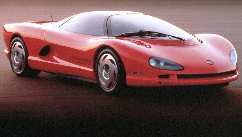 La future Corvette C8 avec moteur central arrière ?