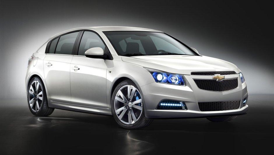 Mondial de l'Auto 2010 : La Chevrolet Cruze 5 portes en avant-première