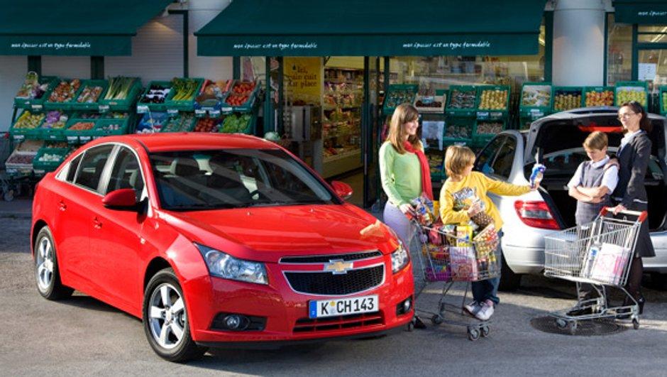 La Chevrolet Cruz : élue Autobest 2010