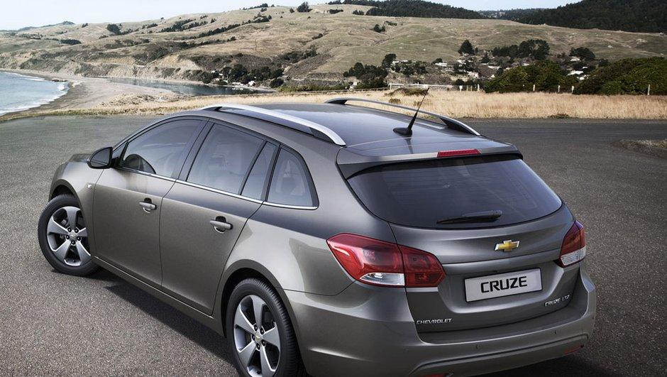 Salon de Genève 2012 : la Chevrolet Cruze fait le break