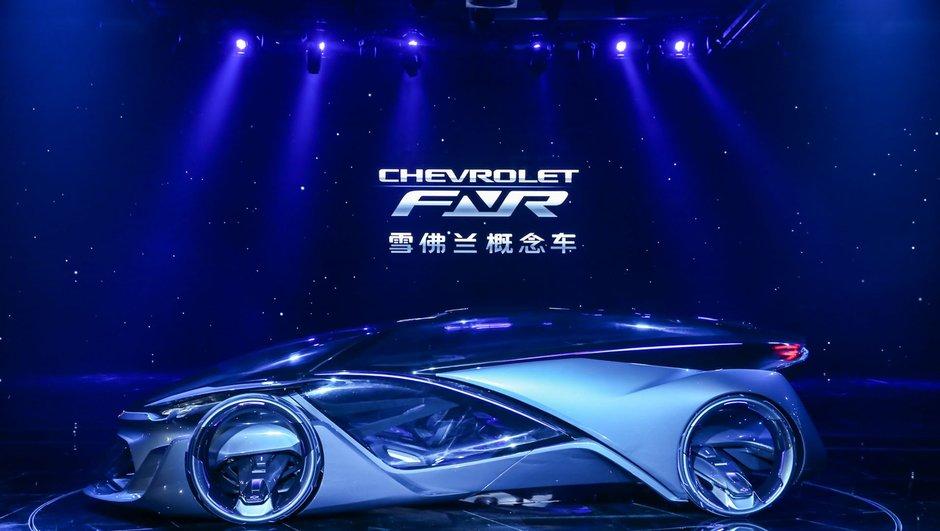 Salon de Shanghai 2015 : Chevrolet FNR Concept, la voiture de demain selon GM
