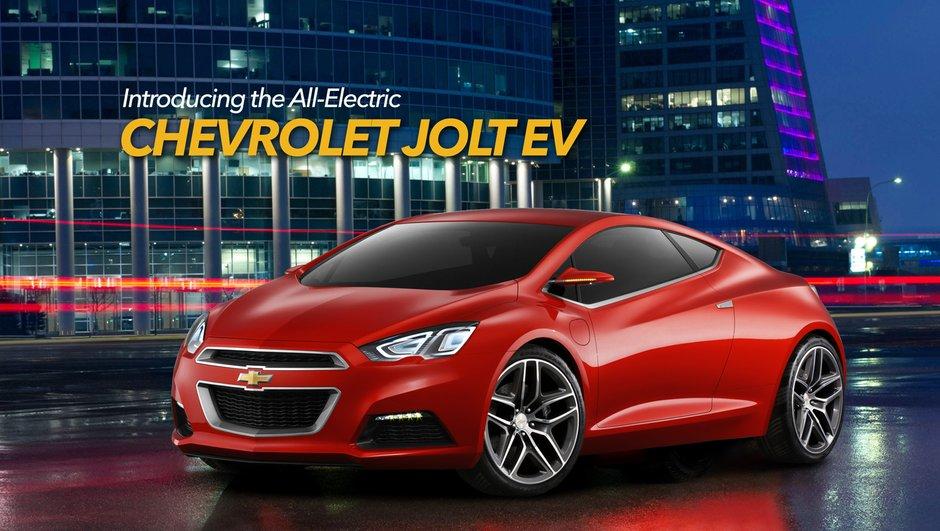 Chevrolet Jolt : le coupé électrique né de l'imagination d'un fan