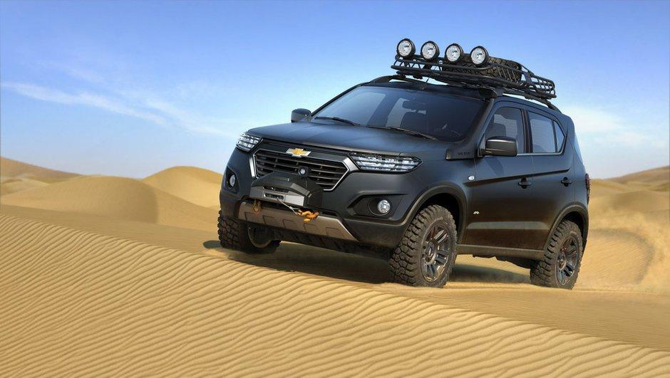 Salon de Moscou 2014 : Chevrolet Niva Concept prêt à l'aventure