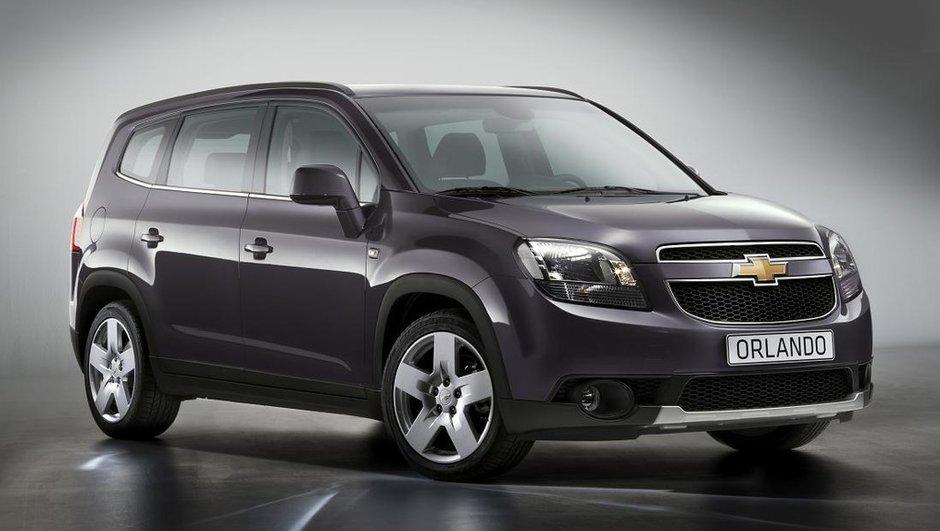 Mondial de l'Auto 2010 : Chevrolet Orlando, le crossover de sortie