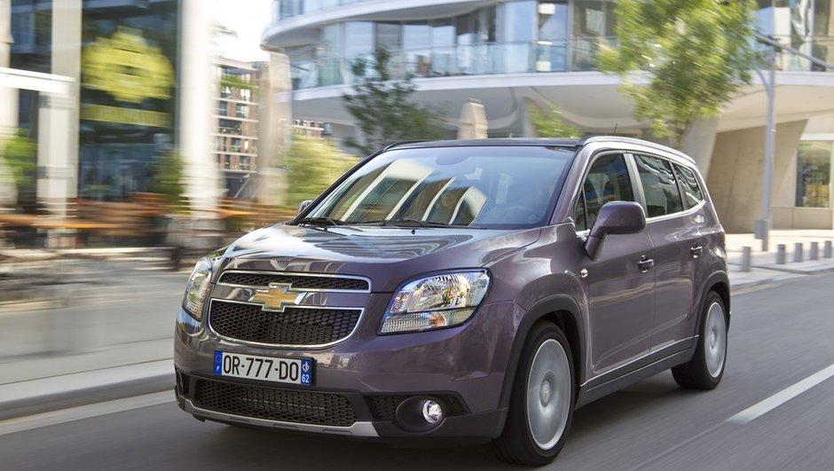 Chevrolet Orlando : les commandes sont ouvertes