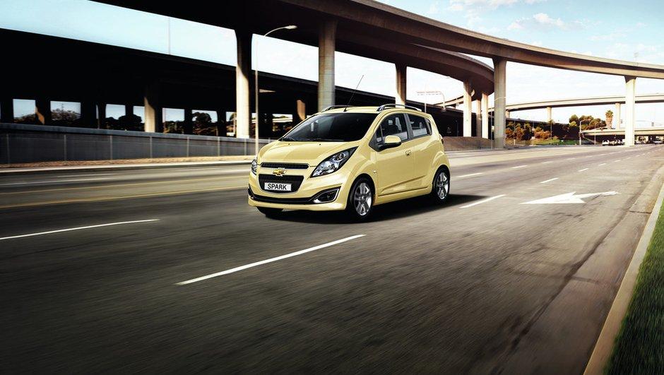 Mondial de l'Auto 2012 : Chevrolet Spark sauce américaine