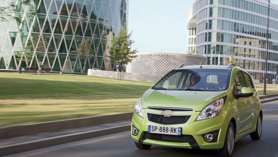 Chevrolet Spark, une bonne citadine à moins de 7.000 euros