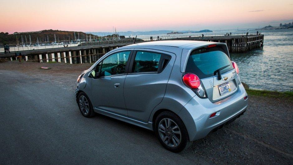 Salon de Genève 2013 : Chevrolet Spark EV, urbaine électrisante