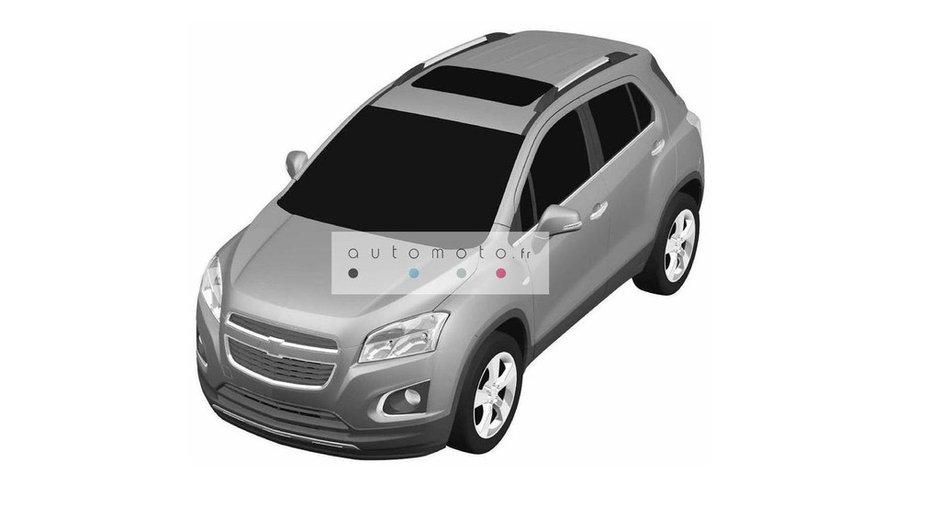 Chevrolet Trax 2013 : le futur SUV compact en exclusivité