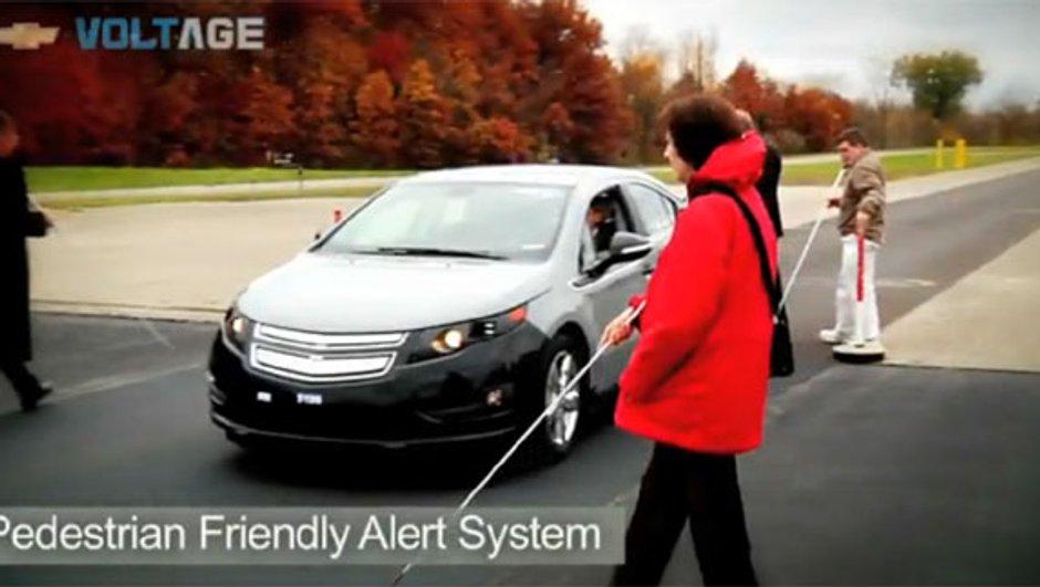 La Chevrolet Volt sort du silence pour les malentendants