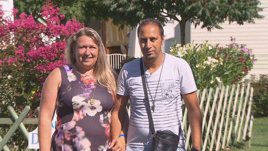Christelle et Sadok, les candidats du lundi