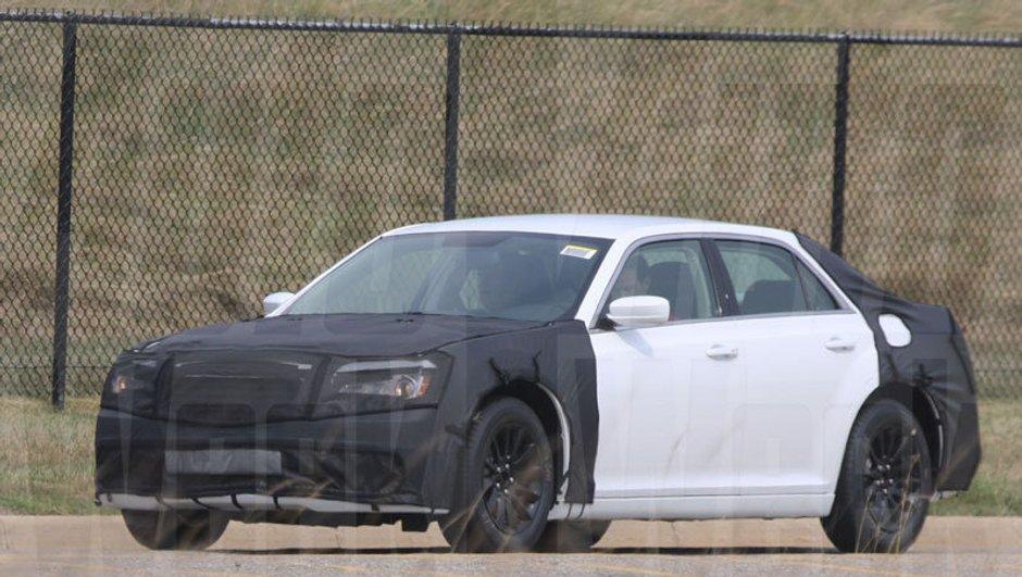 La nouvelle Chrysler 300C prise  en tests aux Etats-Unis