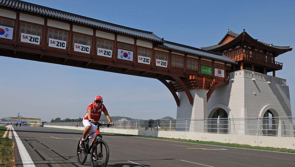 F1 Grand Prix de Corée : Un circuit encore en construction