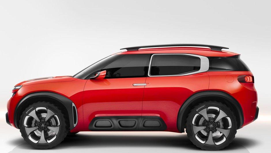 Citroën confirme le SUV Aircross en 2017 !