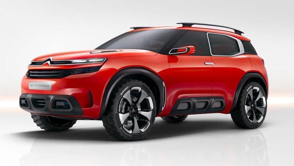 Citroën Aircross : un prototype pour le futur grand frère du Cactus