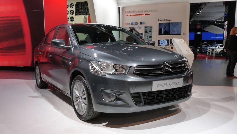Mondial de l'Auto 2012 : Les Citroën C4 L et C-Elysée visent le monde