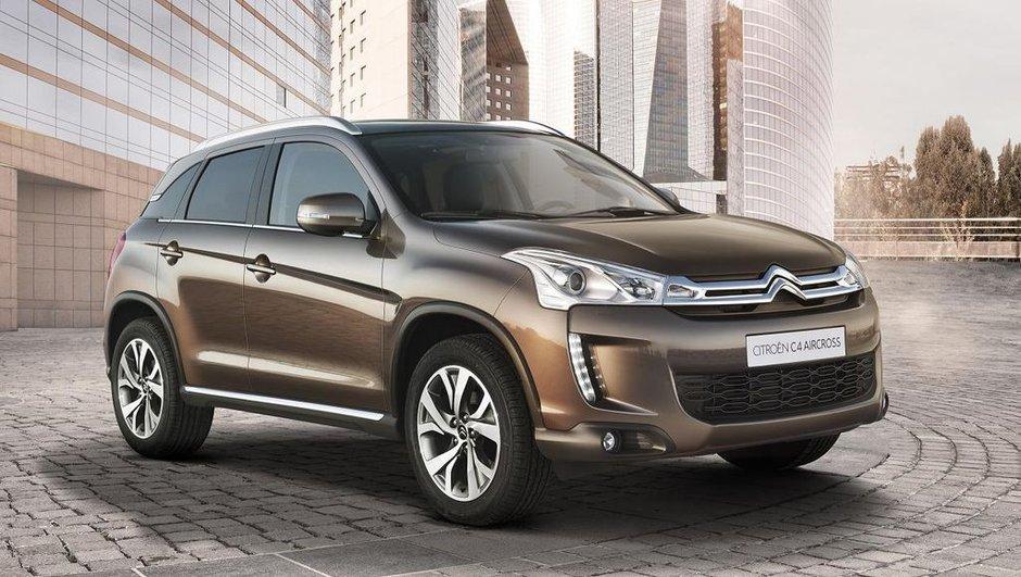 Citroën C4 Aircross : un crossover aux accents japonais
