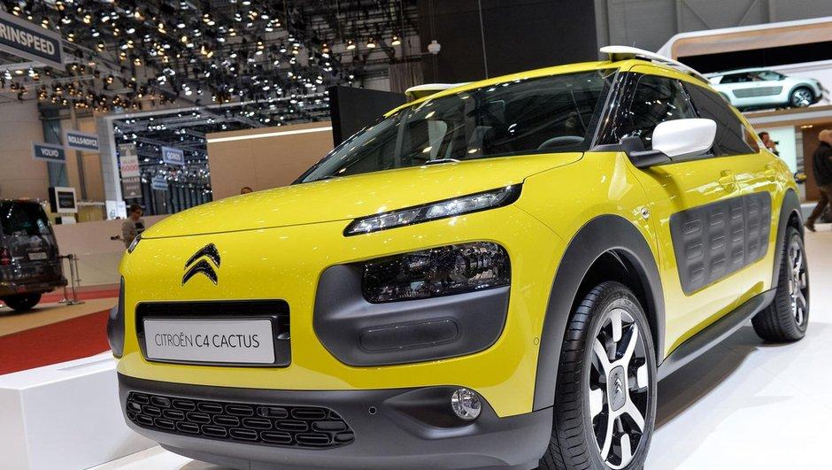 Salon de Genève 2014 : Le Citroën C4 Cactus pique les rivales à vif