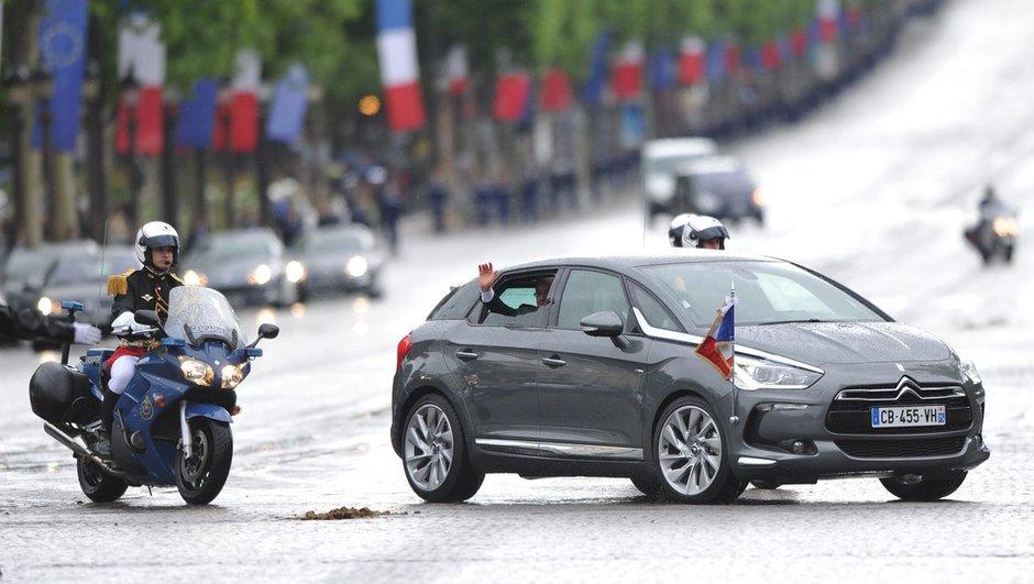 La Citroën DS5 hybride de Hollande en vidéo et photos