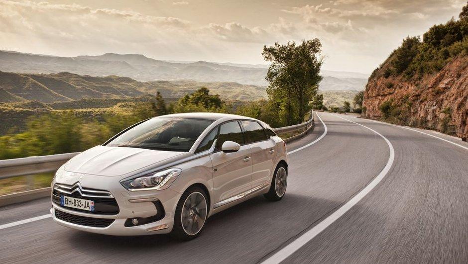 Citroën DS5 : nouvelles photos officielles