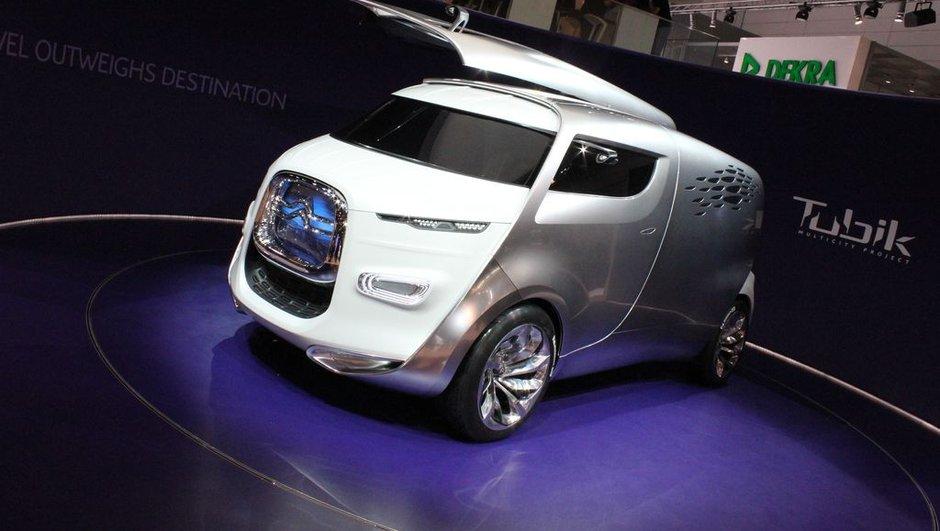 Salon de Francfort 2011 : Citroën Tubik Concept, navette avant-gardiste