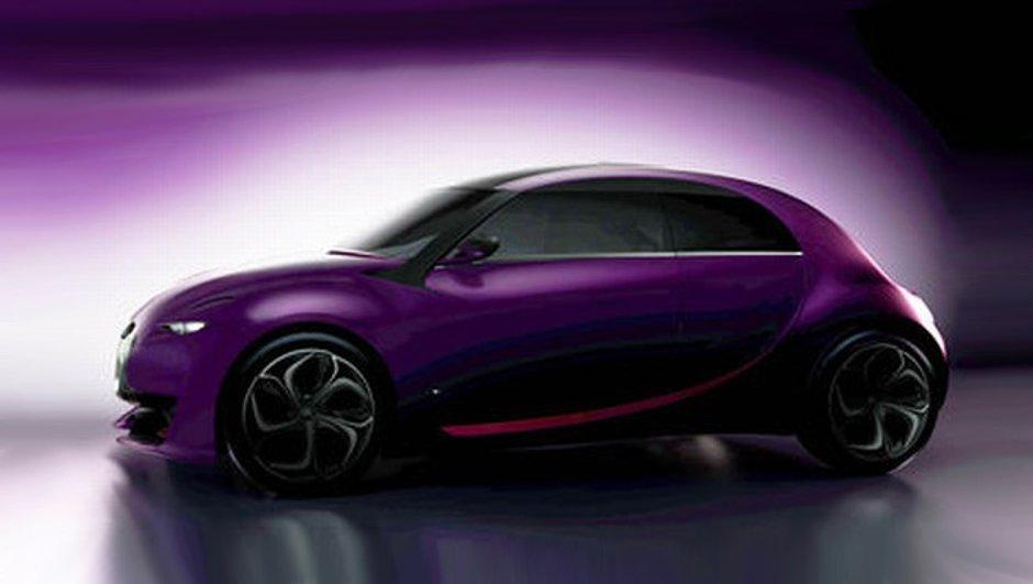 Salon de Francfort 2009 : Concept Citroën 2CV