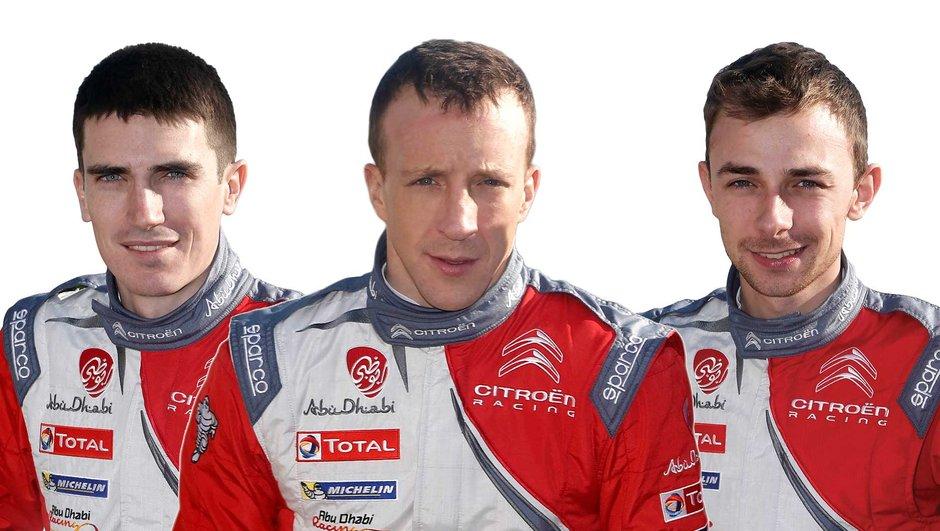 WRC  : Citroën avec Meeke, Lefebvre et Breen en 2017 et 2018