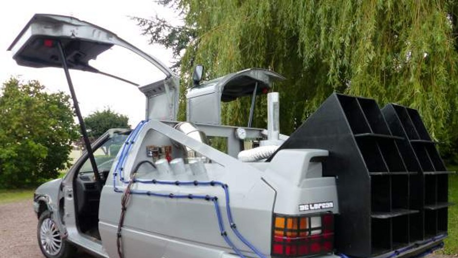 Insolite : la Citroën BX « Retour Vers le Futur » !