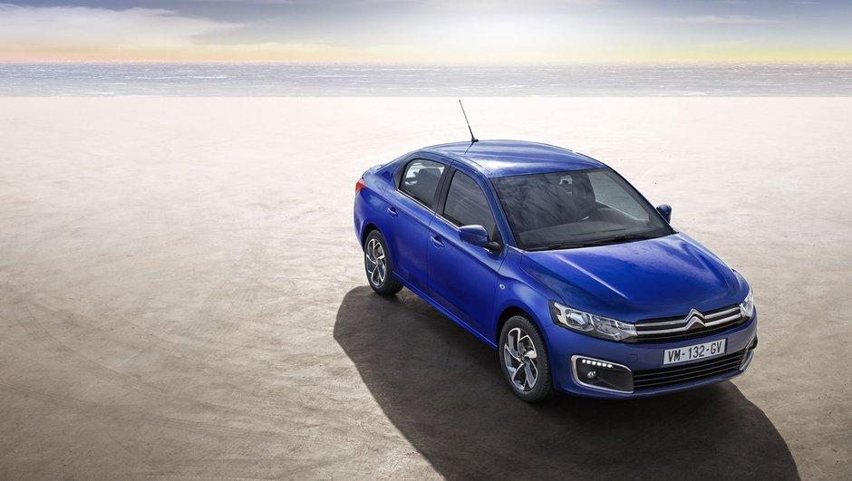 Citroën C-Élysée restylée 2017 : les tarifs à partir de 13.750 euros