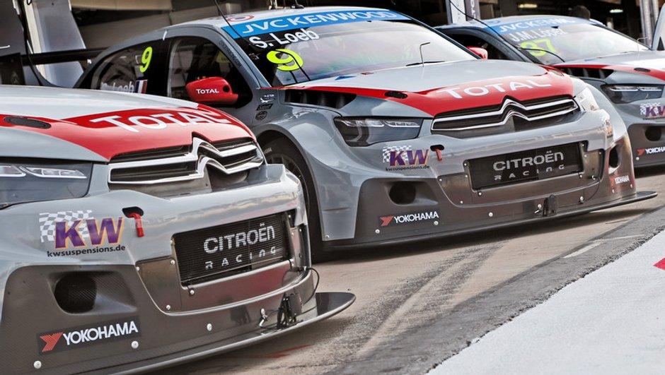 WTCC 2014 - Maroc : Citroën domine les premiers roulages