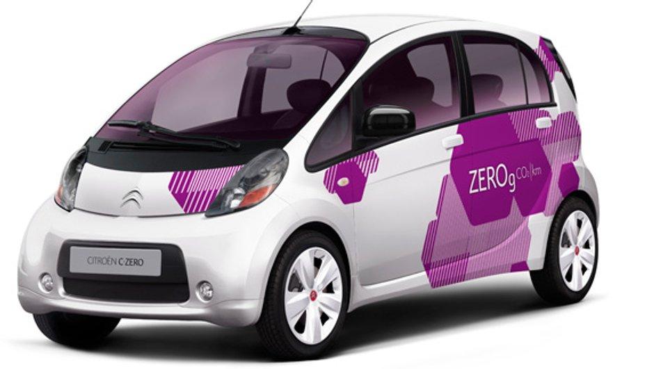 Citroën C-Zero, l'électrique à 100%