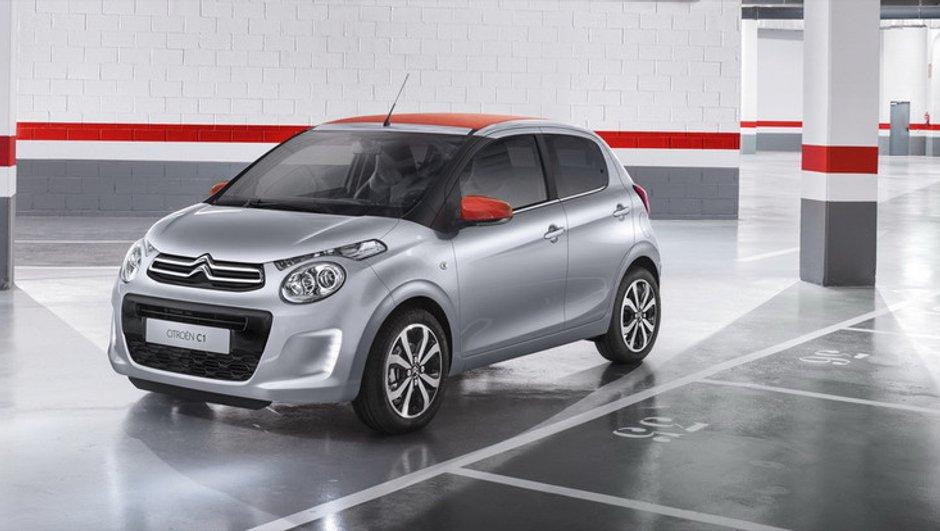 Nouvelle Citroën C1 2014 : la deuxième du trio révélée avant Genève