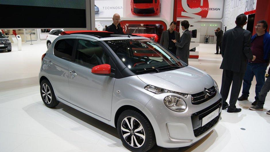 Salon de Genève 2014 : La C1 mise sur la marque Citroën