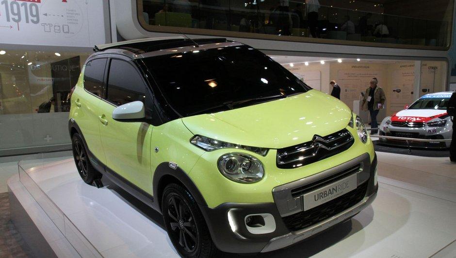 Mondial de l'Automobile 2014 : Citroën C1 Urban Ride Concept, la citadine au look baroudeur