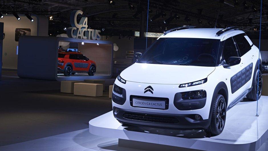 Nouveau Citroën C4 Cactus 2014 : des prix à partir de 13.950 euros