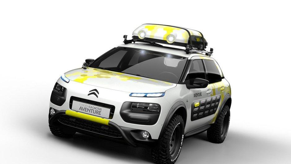 Citroën C4 Cactus Aventure Concept : le crossover se dévergonde déjà à Genève