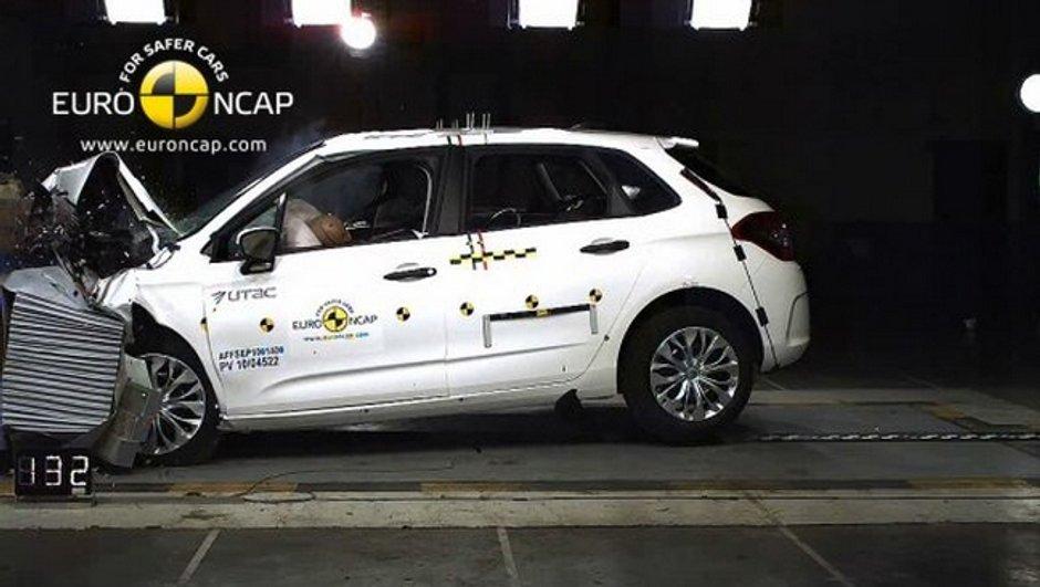 Crash-Test : 5 étoiles pour 4 nouveautés dont la Citroën C4