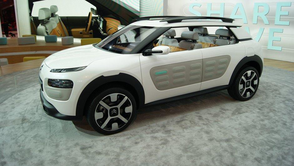Salon de Francfort 2013 : le concept Citroën Cactus va à l'essentiel