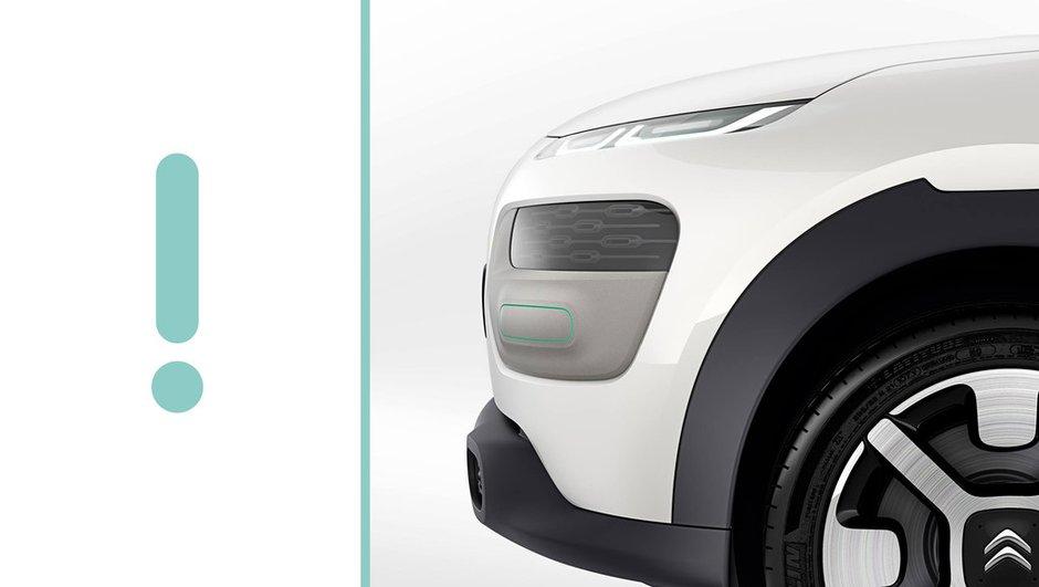 Citroën Cactus Concept 2013 : le teaser photo et vidéo