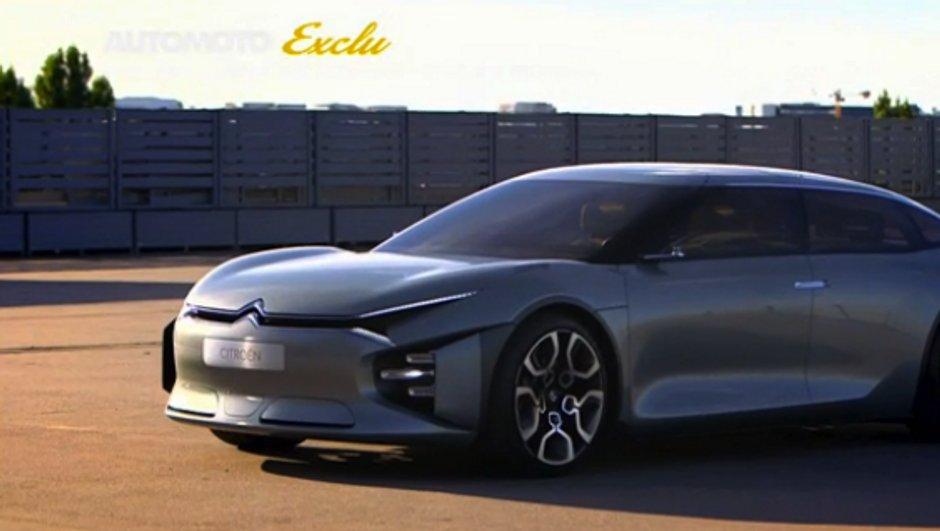 Exclu: Citroën Cxperience Concept 2016, la prochaine star du Mondial de l'Auto