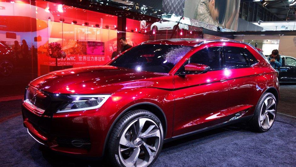 Salon de Shanghai 2013 : Citroën DS Wild Rubis Concept, hybride 295 ch