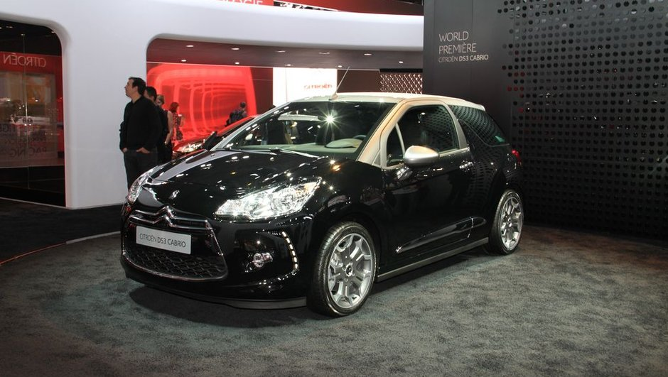 Mondial de l'Auto 2012 Live : on a découvert la Citroen DS3 Cabrio