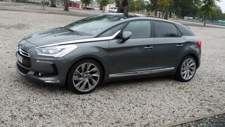 Citroën DS5 : nos photos du crossover français