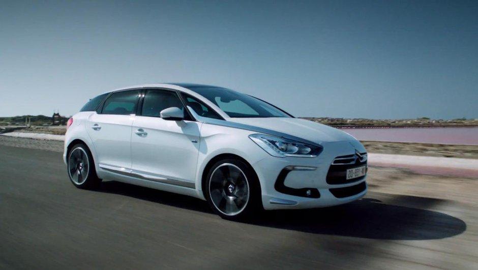 Vidéo : Citroën DS5 Hybrid4 en mouvement