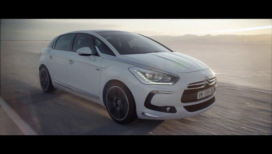 Citroën DS5 : la nouvelle pub avec Marylin Manson