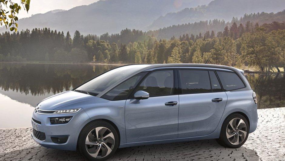 Nouveau Citroën Grand C4 Picasso 2013 : le Technospace 7 places