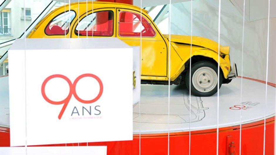 Citroën fête ses 90 ans