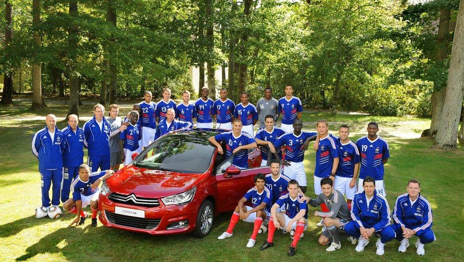 Citroen devient partenaire officiel de l'équipe de France